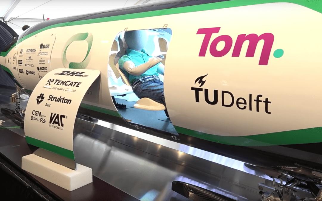 3D Human Model first passenger on the Hyperloop