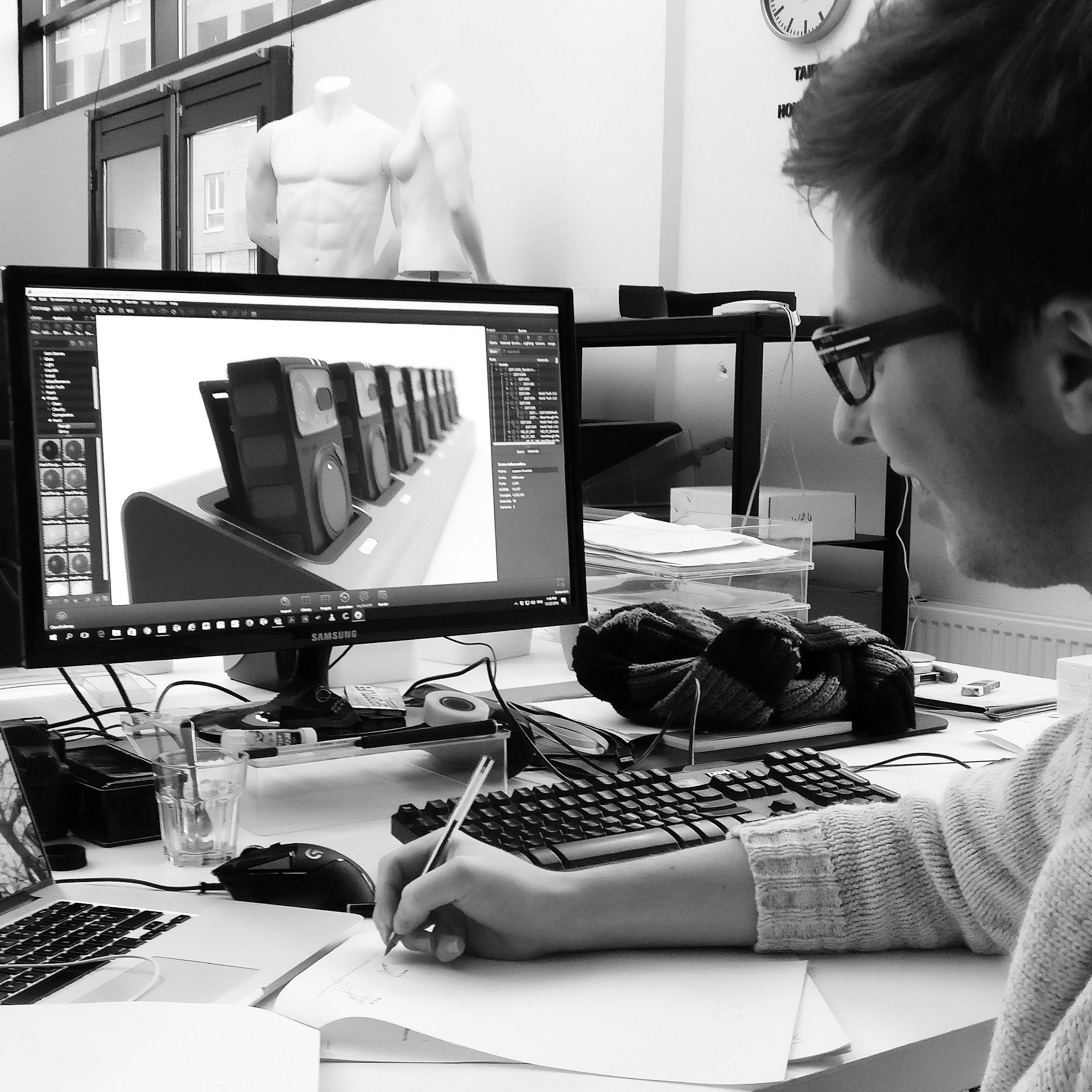 Slimdesign design team Guillaume Nunne