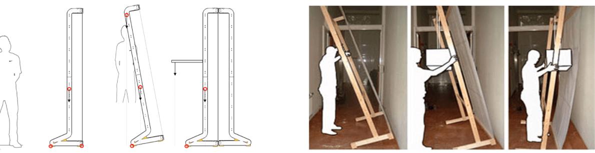 Nike Modular Stand System testing