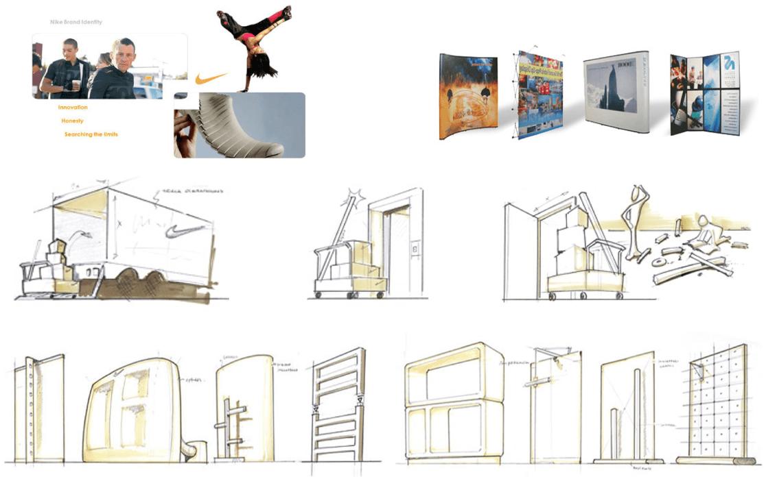 Nike Modular Stand System analysis