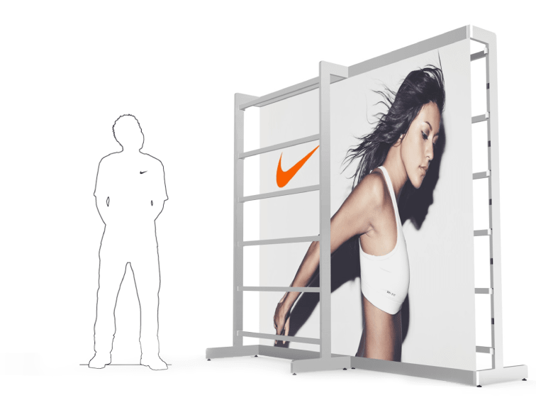 Nike Modular Stand System concept 3d