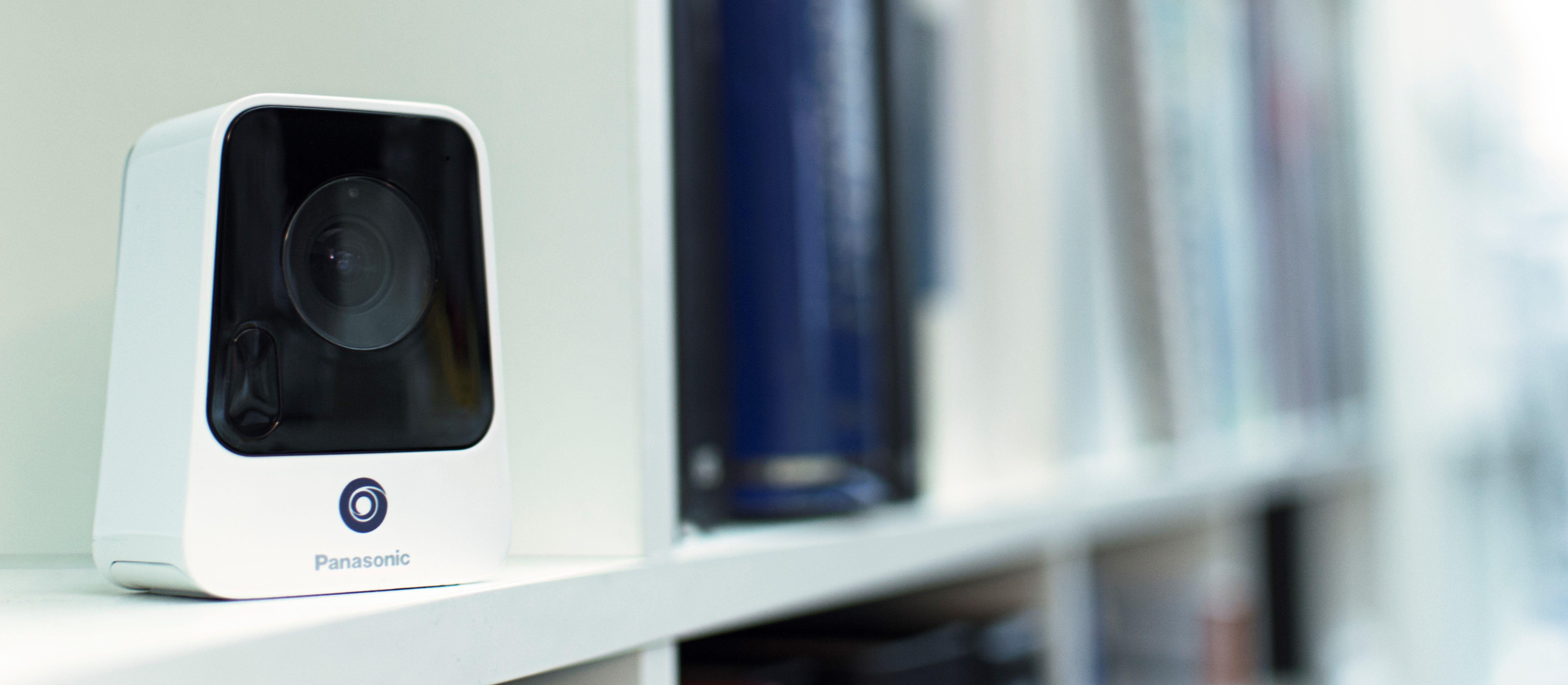 Panasonic nubo 4g security camera slimdesign smart product bookshelf smart product