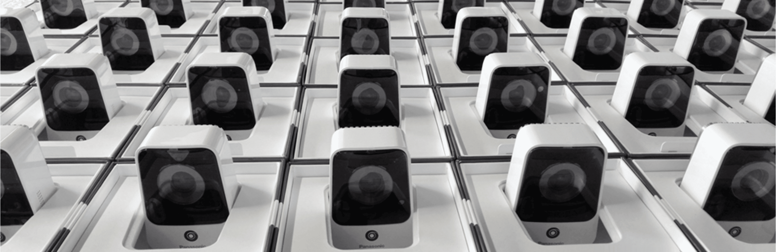 Panasonic nubo 4g security camera slimdesign smart product mass production