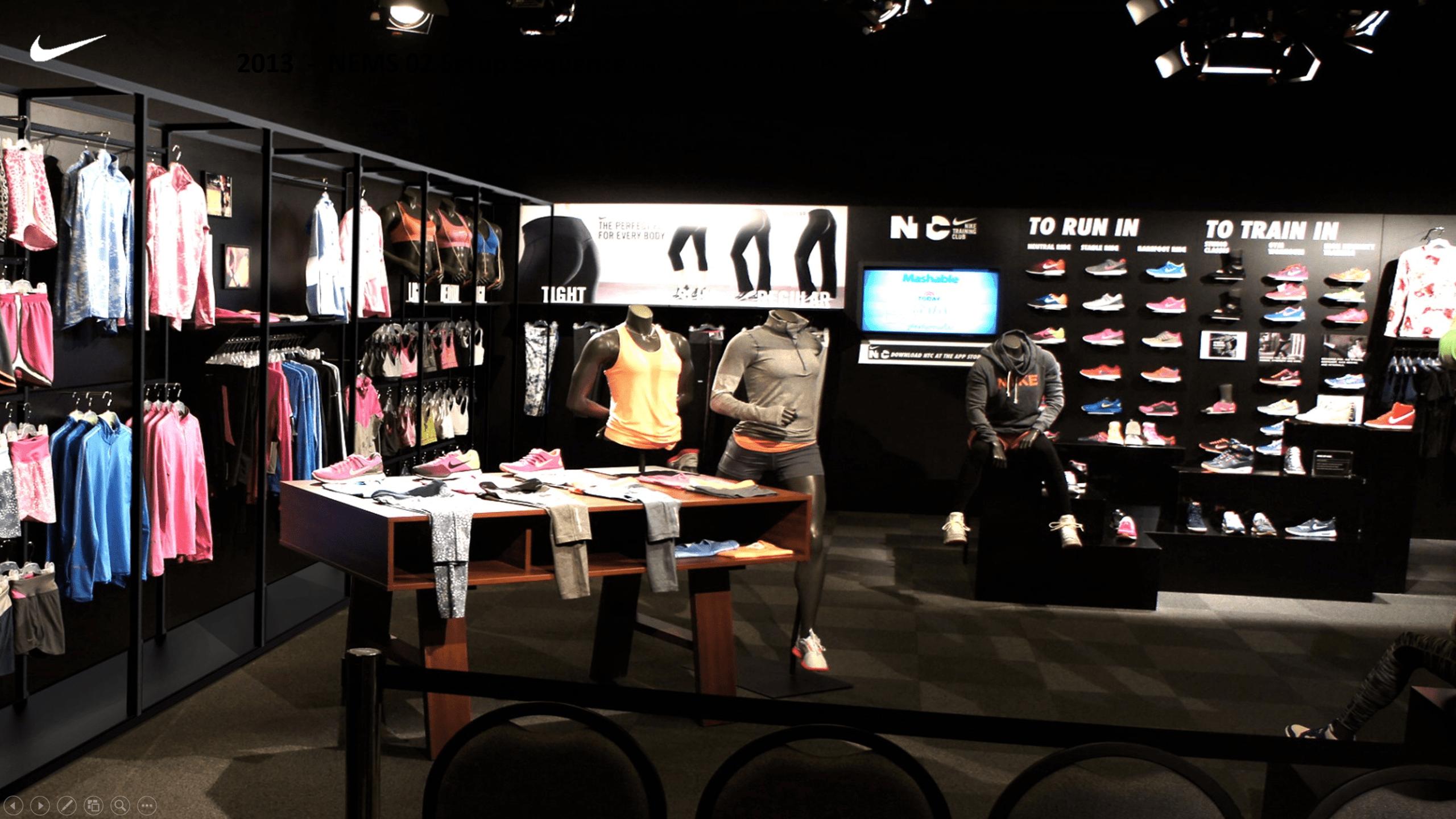 Nike Modular Stand System