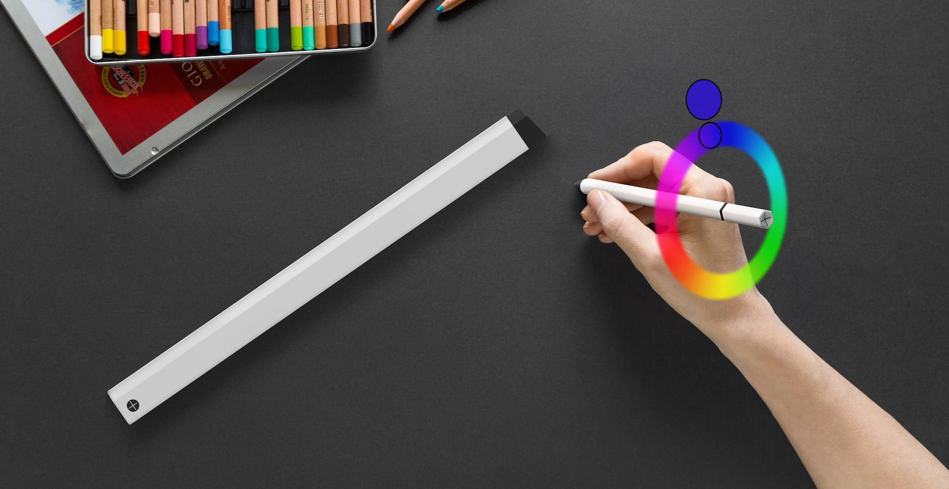 mixed reality concept pencil by slimdesign