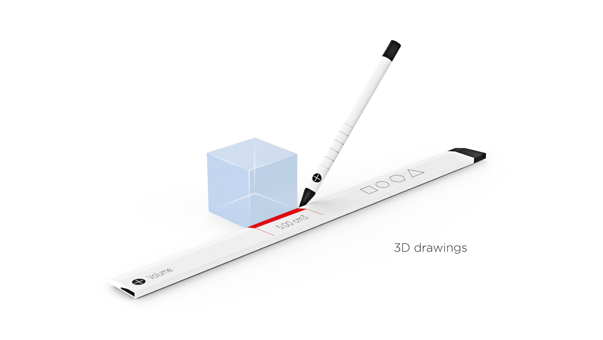 mixed reality concept ruler by slimdesign