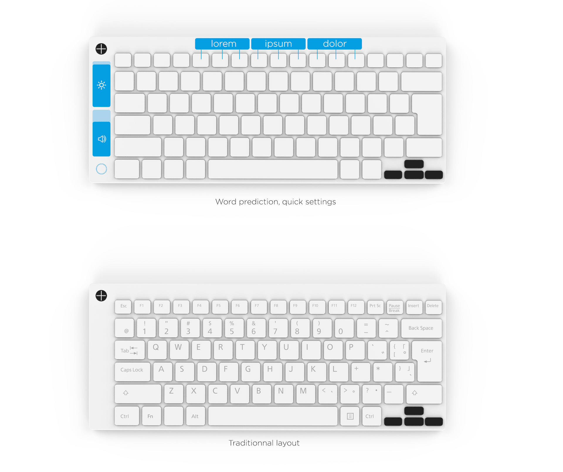mixed reality concept keyboard by slimdesign